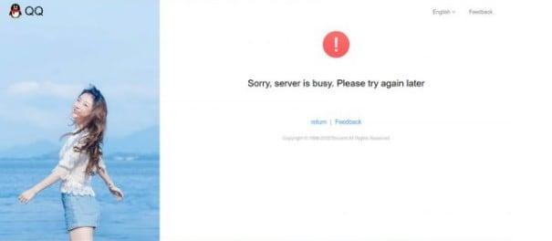 QQ Registration Failed