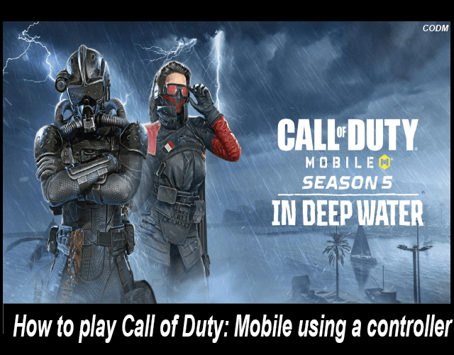 How to play Call of Duty Mobile using a controller-01