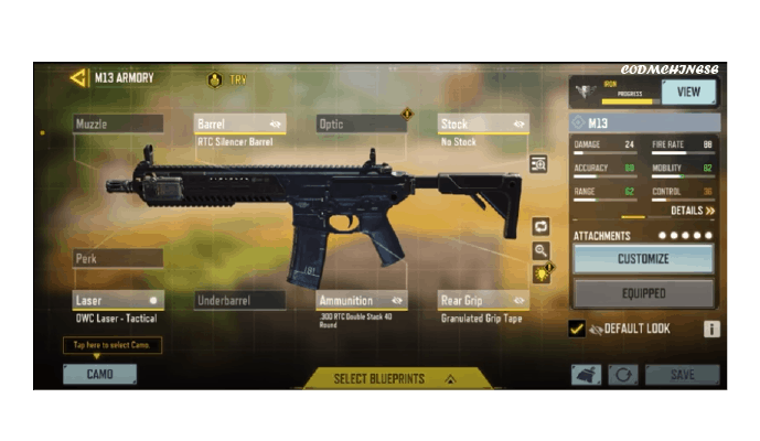 Best Attachment for M13